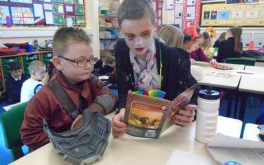 World Book Day in year 2 and 6
