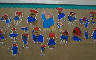 Paddington Bear Visits Reception