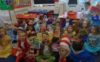 World Book Day in Y1EB