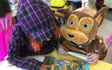 Y1EB/Y5AB Shared Reading photographs (World Book Day)