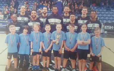 Y5 Worthy Winners at the Gateshead Hoops4Health Finals!