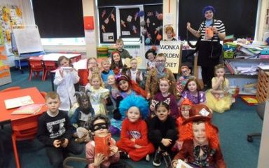 World Book Day in Y2 A/C