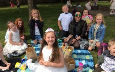 The royal day continues with a picnic lunch.