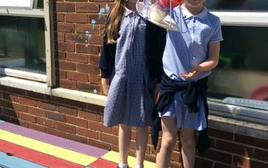 Year 2 science week – save the egg!!!