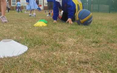 Multi skills with Year 5