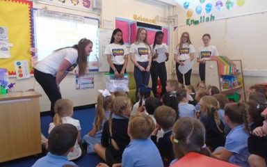 Miss Armstrong's Malawi Visit