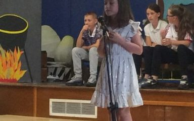 Key stage 1 talent show