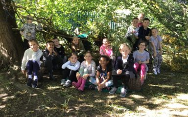 Forest School with Miss Bowes class