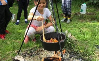 Forest School returns with jam making