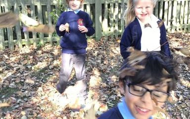 Year 2 Go Crunching through the Leaves.