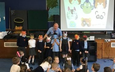 Year 2 E-safety training day with Mr Bailey @animate2educate