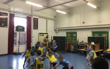 Y3 EB Enjoy their Basketball Sessions
