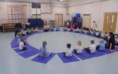 Yoga Bugs in Nursery