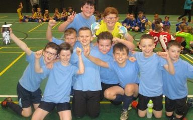 Y5 Football Team did us proud!