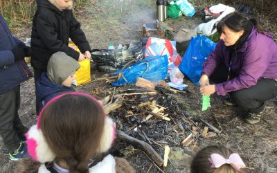 Year 4 finish Forest School sessions