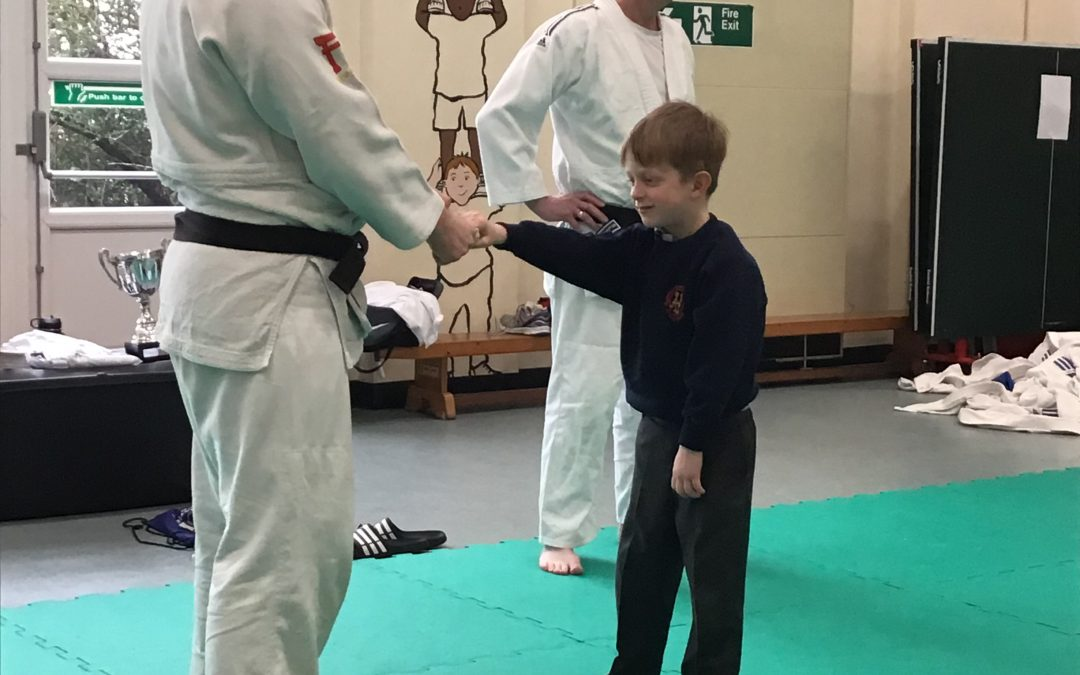 Year 1 enjoy a judo taster session