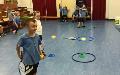 Year 1 enjoy tennis sessions