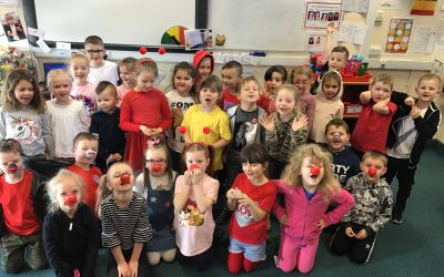 Red Nose Day in year 1