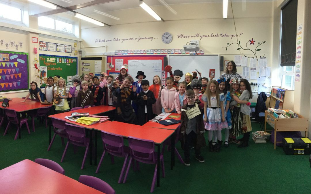 World Book Day in Y3 EB