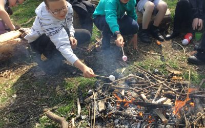 Year 5 enjoy Forest School